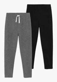 OVS - 2 PACK - Pantalones deportivos - dark grey/dark blue - 0