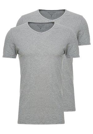 2 PACK - Pyjama top - grey