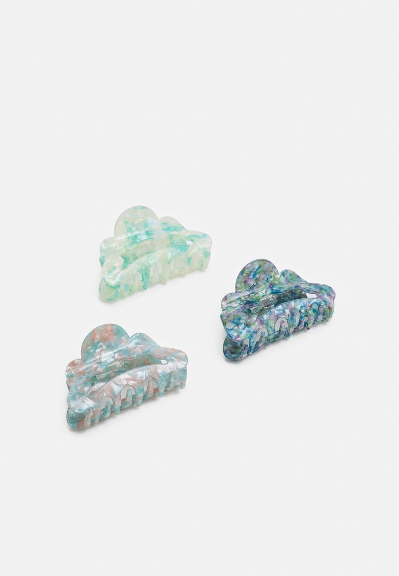 Pieces - PCGIA HAIRSHARK KEY 3 PACK - Hair styling accessory - kentucky blue
