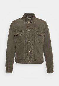 SCALBY JACKET - Denim jacket - woodland brown