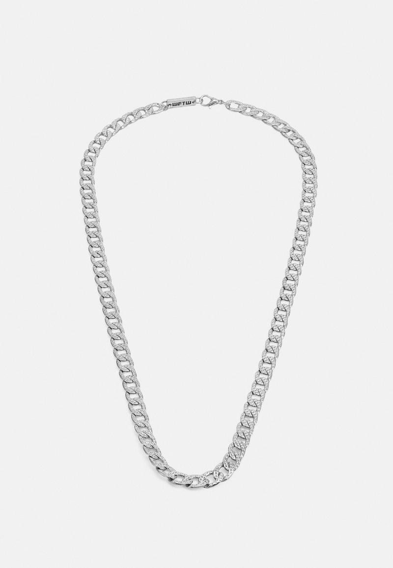 Wild For The Weekend - MAVERICK CHAIN NECKLACE - Necklace - silver-coloured
