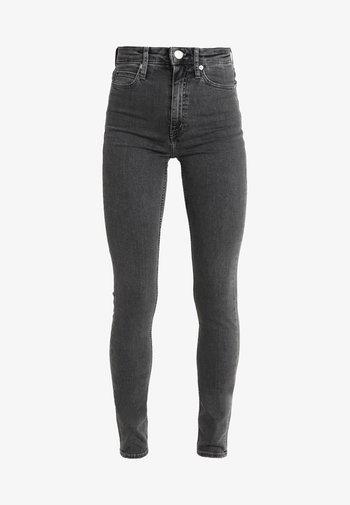 CKJ 010 HIGH RISE SKINNY  - Jeans Skinny Fit - stockholm grey