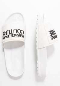 Versace Jeans Couture - Rantasandaalit - bianco ottico - 3