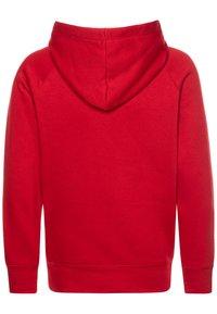 Jordan - JUMPMAN LOGO - Bluza z kapturem - gym red - 1