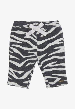 ZEBRA-PRINT JACQUARD  - Shorts - white/grey