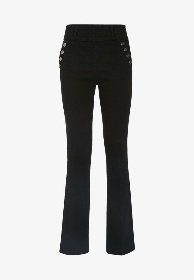 Bootcut jeans - denim noir
