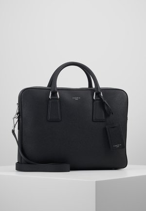 DOWNTOWN LARGE - Briefcase - black