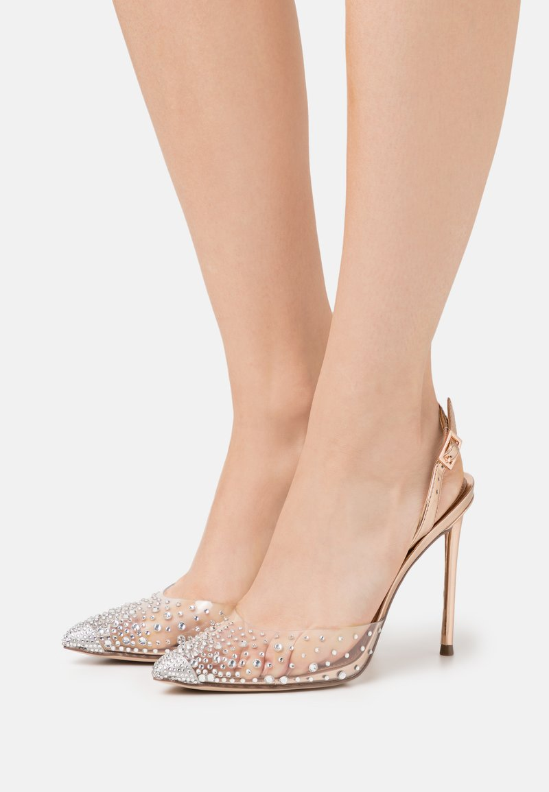 Steve Madden - RECORD - High heels - rose gold/multicolor
