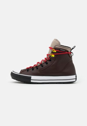 CHUCK TAYLOR ALL STAR UNISEX - Höga sneakers - dark root/malted/university red