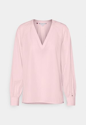 BLOUSE - Long sleeved top - light pink