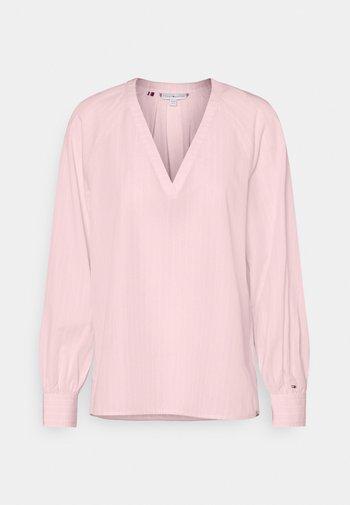 BLOUSE - Top sdlouhým rukávem - light pink