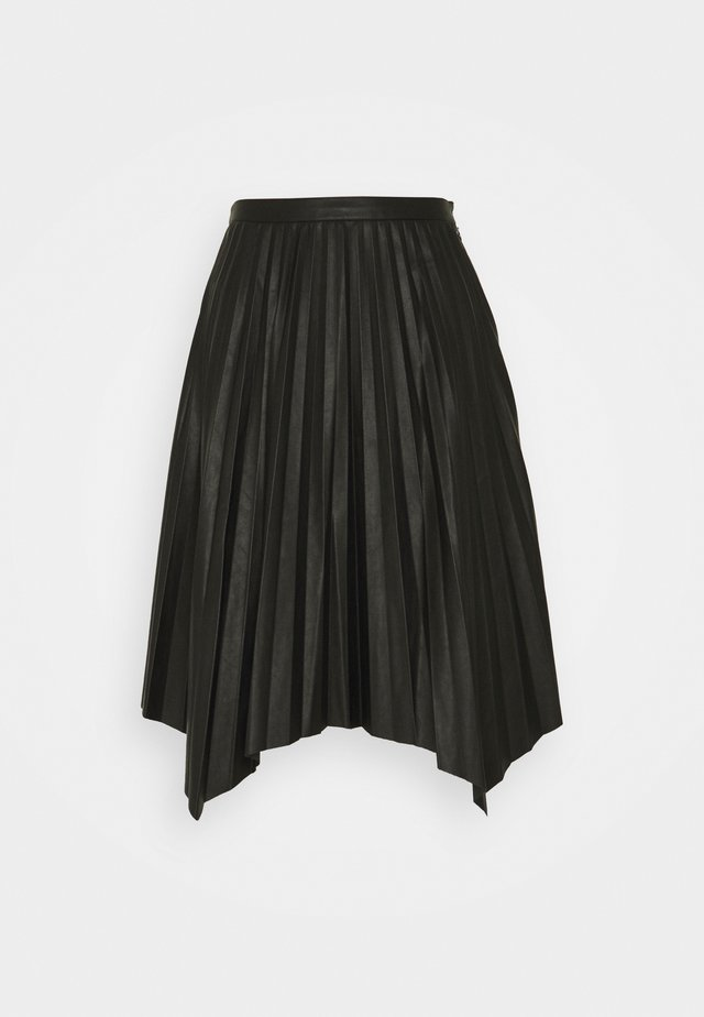 MARIE PLEATED SKIRT - Faltenrock - black