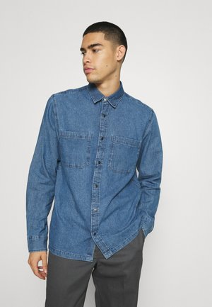 JORLUKAN - Camisa - medium blue