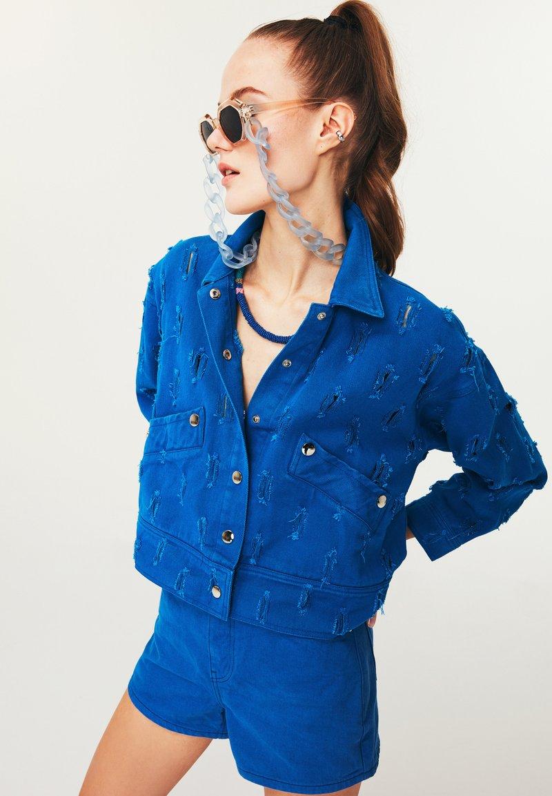 Twist - Denim jacket - blue