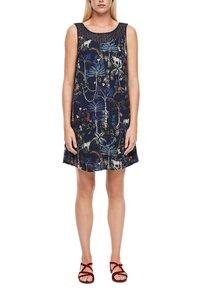 s.Oliver - Day dress - dark blue floral aop - 4