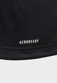 adidas Performance - AEROREADY T-SHIRT - Triko spotiskem - blue - 4