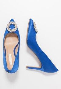 Dorothy Perkins - GLADLY POINTED TRIM COURT - Høye hæler - blue - 3