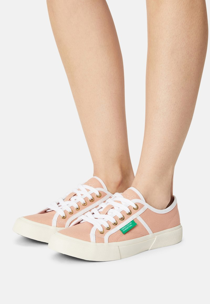 Benetton - TYKE PLUS - Sneakers basse - coquille/white