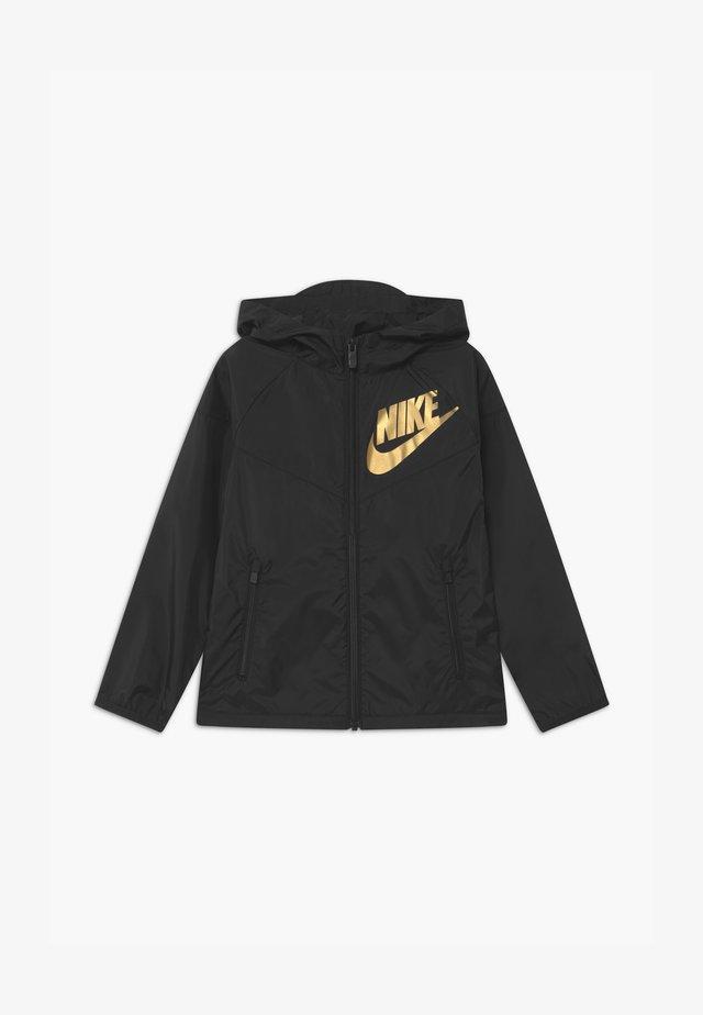 Training jacket - black/gold