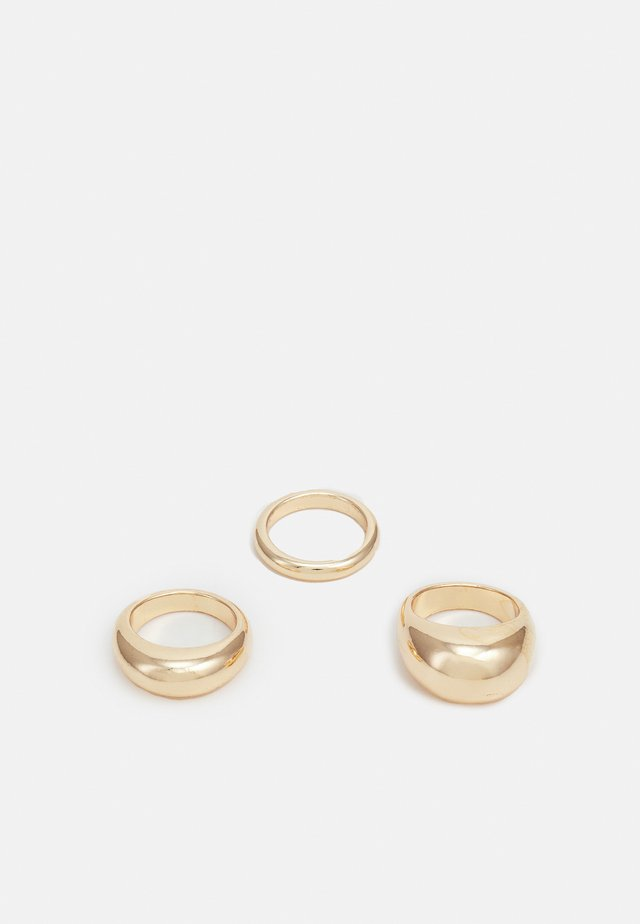 AMINA 3 PACK - Ringar - gold-coloured