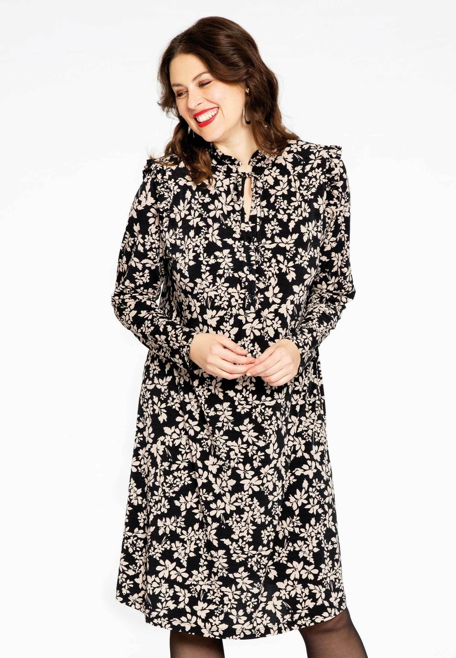 Damen FLORAL PRINT - Jerseykleid