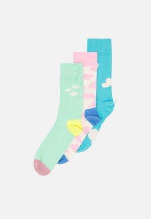 CLOUDY 3 PACK UNISEX - Socks - multi pastels