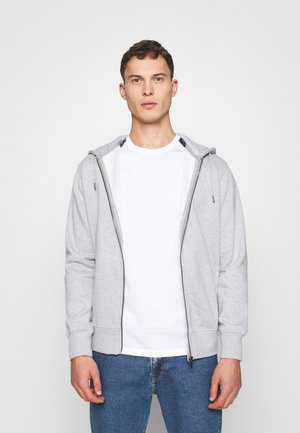 SETHREE - Zip-up hoodie - heather grey