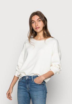 Sweatshirt - egret