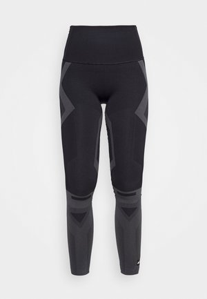 Leggings - black/solid grey