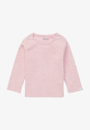 BABY TEE NATAL UNISEX - Long sleeved top - light rose melange