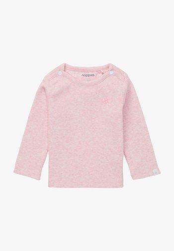 BABY TEE NATAL UNISEX - Longsleeve - light rose melange
