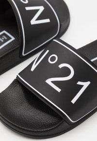 N°21 - Mules - black - 5
