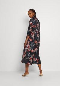 Molly Bracken - LADIES WOVEN DRESS - Maxi dress - dryflowers black - 2