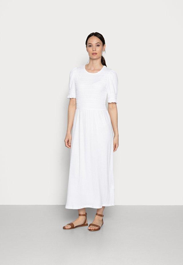Maxikjole - brilliant white