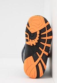 Kappa - BIG WHEEL TEX - Winter boots - navy/orange - 4
