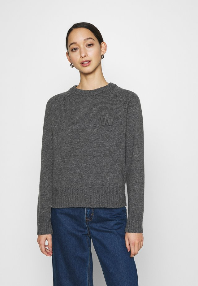 ASTA JUMPER - Neule - grey
