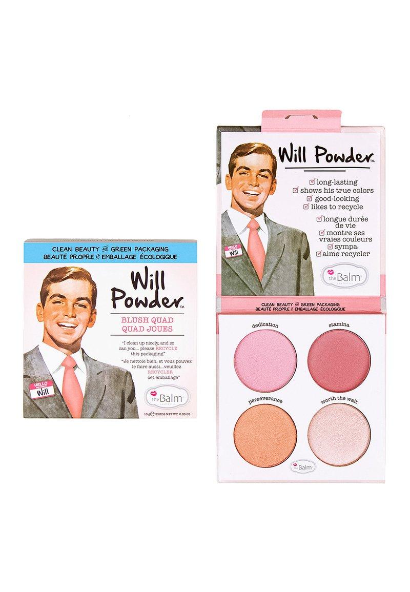 the Balm - WILL POWDER QUAD - Face palette - multi