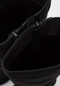Wallis - HONEY - High heeled boots - black - 5