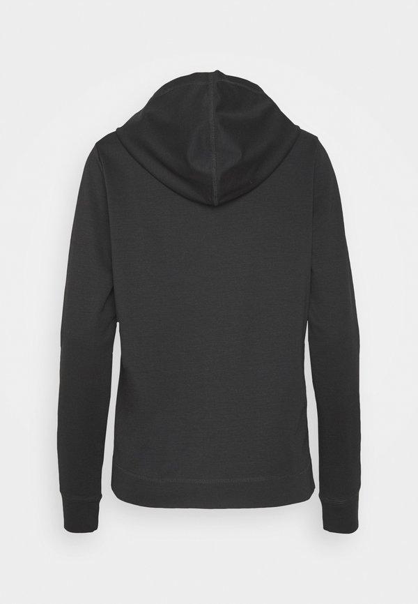 DRYKORN PAPILIA - Bluza z kapturem - schwarz Kolor jednolity Odzież Damska PIQE NT 8