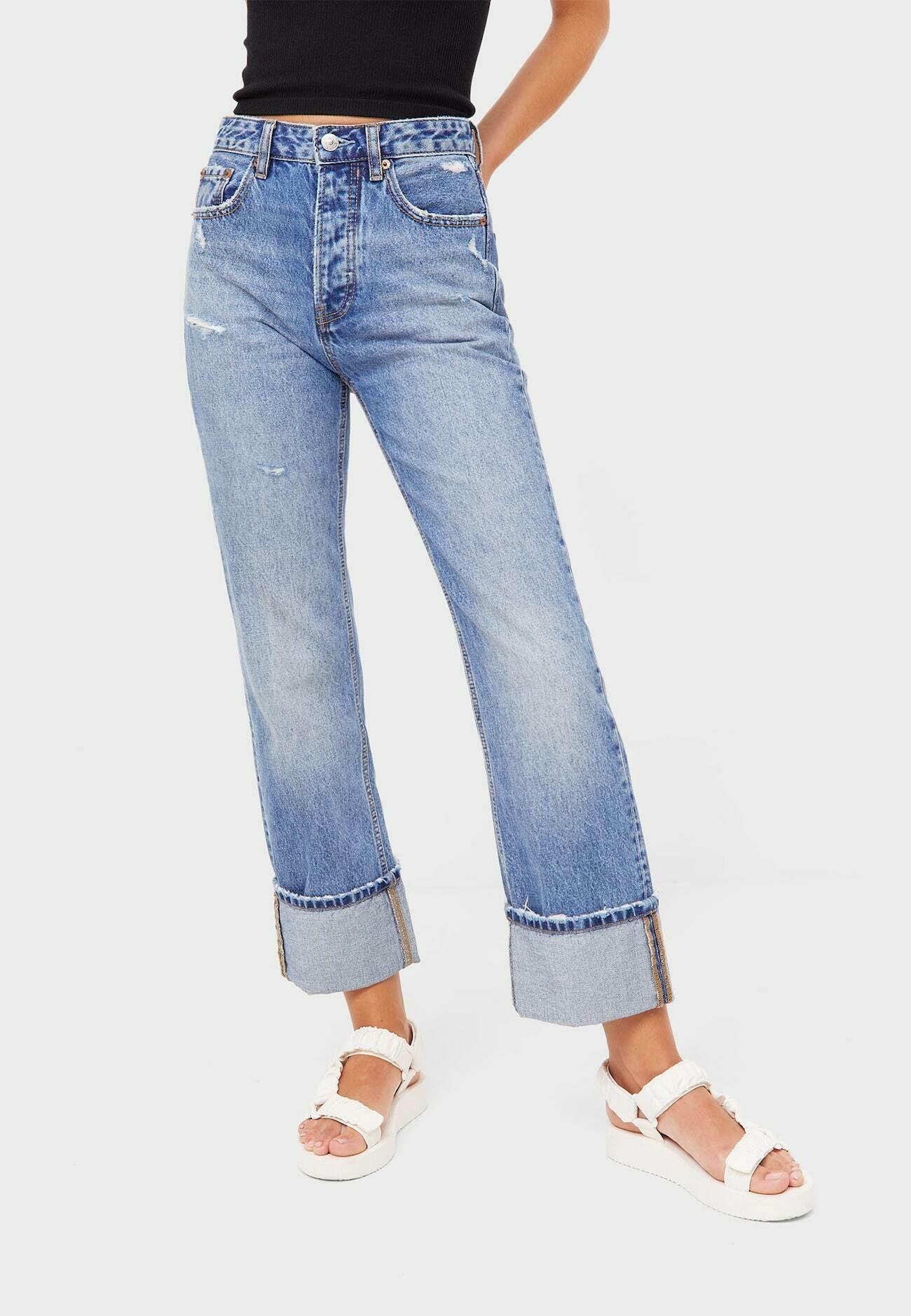 Damer IM VINTAGELOOK  - Jeans Straight Leg