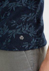 WE Fashion - WE FASHION HEREN POLO MET DESSIN - Poloshirt - blue - 4