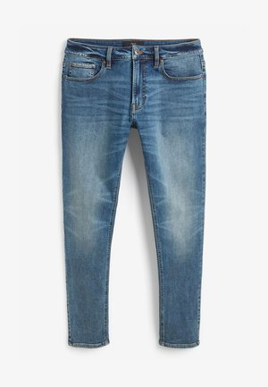 MOTION FLEX  - Slim fit jeans - mottled dark blue