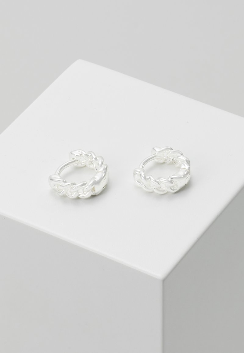 LIARS & LOVERS - CURB CLICKER - Earrings - silver-coloured
