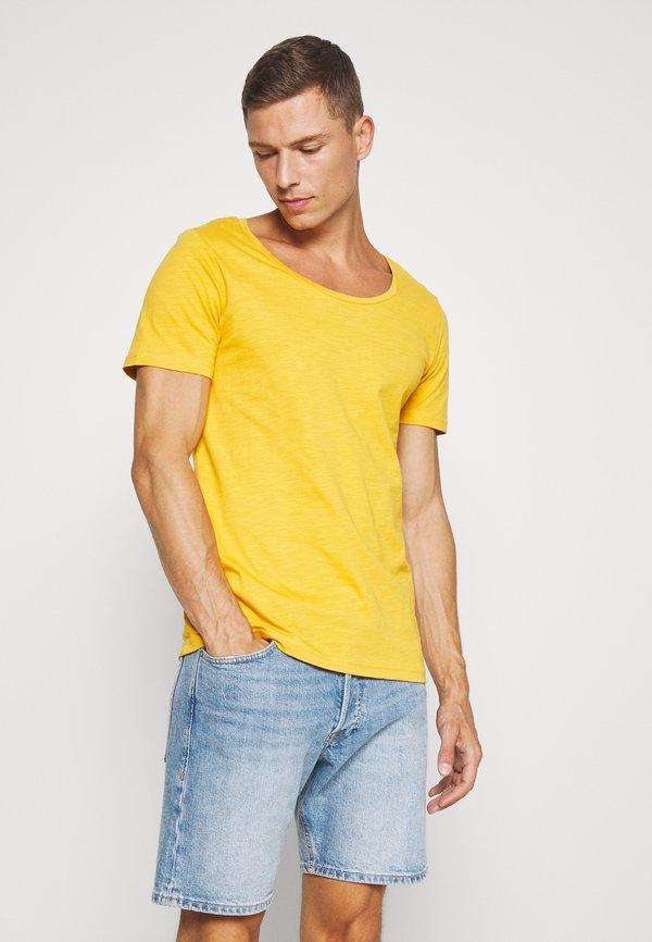 Pier One T-shirt basic - light yellow/jasnożÓłty Odzież Męska GSIN
