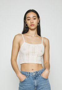 BDG Urban Outfitters - TWIN SET - Cardigan - cream - 2