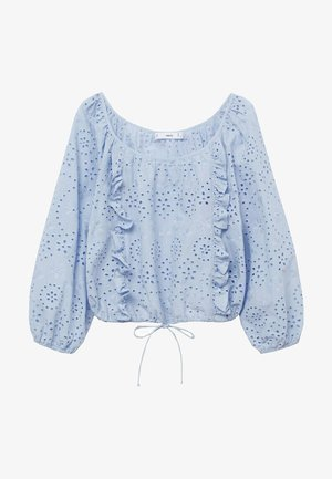 ICELAND - Long sleeved top - blauw