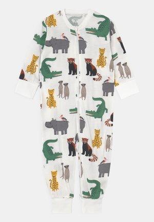 MULTI ANIMALS UNISEX - Pyjamas - light dusty white