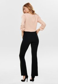 ONLY - ONLROCKY  - Trousers - black - 2