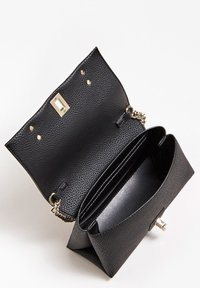 Guess - UPTOWN CHIC MINI XBODY FLAP - Sac bandoulière - black - 3