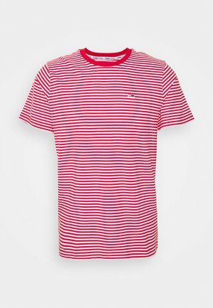 CLASSICS STRIPE TEE - T-shirts print - red